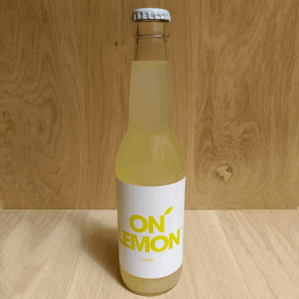 Bouteille on lemon
